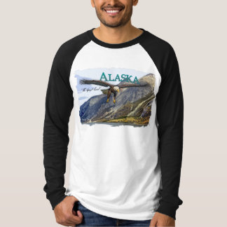 Alaska Basic Long Sleeve Raglan T-Shirt