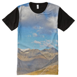 Alaska Beautiful Mountains All-Over Print T-Shirt