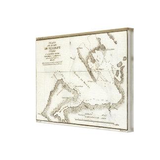Alaska Book Map Canvas Print