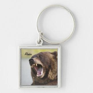 Alaska Brown Bear Keychain