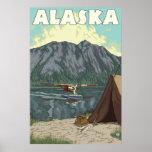 Alaska - Bush Plane and Fishing
