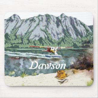 Alaska Bush Plane And Fishing Travel Mouse Pad