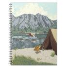 Alaska Bush Plane And Fishing Travel Notebook
