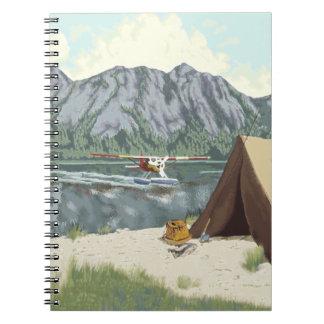 Alaska Bush Plane And Fishing Travel Notebooks