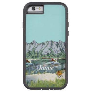 Alaska Bush Plane And Fishing Travel Tough Xtreme iPhone 6 Case