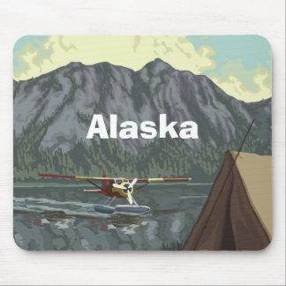 Alaska Bush Plane Souvenirs Mouse Pad