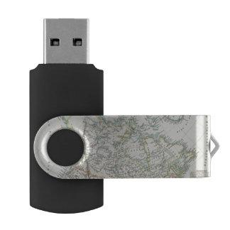 Alaska, Canada, Greenland USB Flash Drive