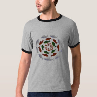 Alaska Circle Salmon T-Shirt