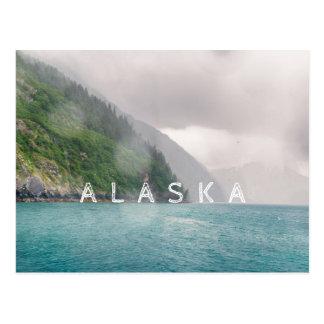 Alaska Coastal Landscape | Postcard