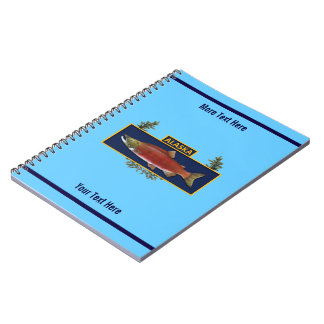 Alaska Combat Fisherman Badge Notebooks