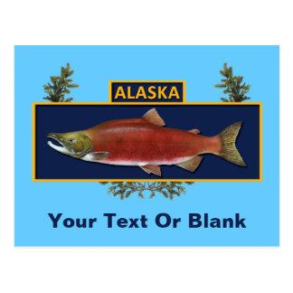 Alaska Combat Fisherman Badge Postcard
