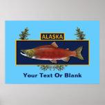 Alaska Combat Fisherman Badge Poster