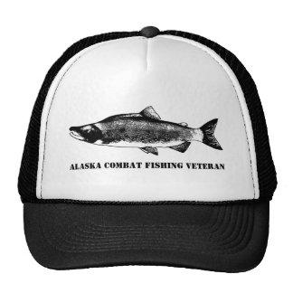 Alaska Combat Fishing Veteran Cap