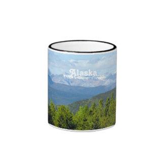 Alaska Countryside Ringer Mug