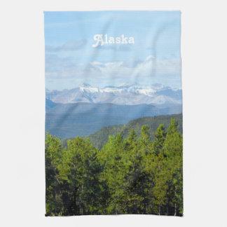 Alaska Countryside Tea Towel