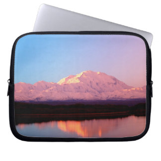 Alaska, Denali National Park, Mt. McKinley at Laptop Sleeve