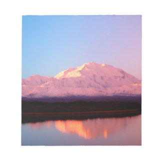 Alaska, Denali National Park, Mt. McKinley at Notepad