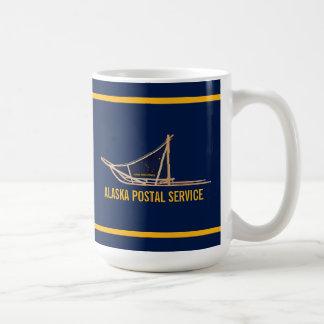 Alaska Dog Sled Postal Carrier Coffee Mug