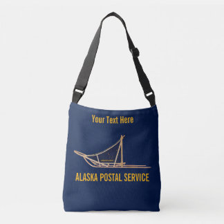 Alaska Dog Sled Postal Carrier Crossbody Bag