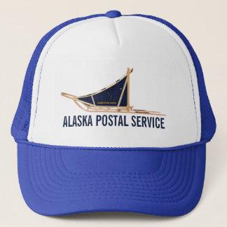 Alaska Dog Sled Postal Carrier Trucker Hat