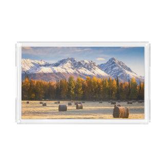 Alaska Farming Acrylic Tray