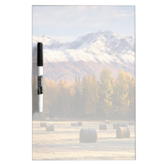Alaska Farming Dry Erase Board