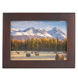 Alaska Farming Keepsake Box