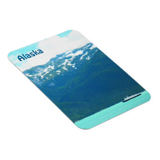 Alaska Ferry Rectangular Photo Magnet