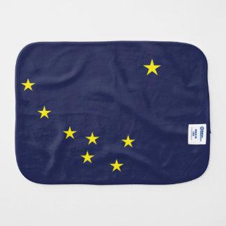 ALASKA Flag Burp Cloth