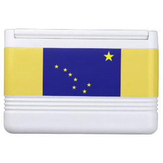 Alaska Flag Igoo Ice Cooler Igloo Cool Box