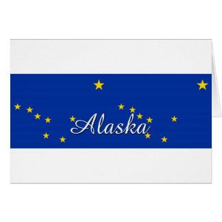 Alaska Flag  Mug 300dpi Greeting Cards