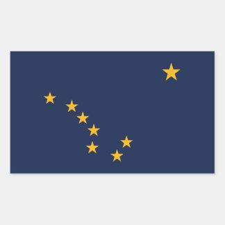 Alaska Flag Rectangular Sticker