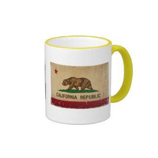 Alaska Flag VINTAGE.png Ringer Coffee Mug