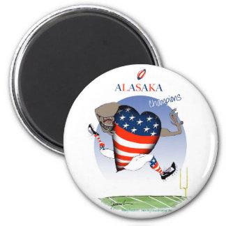 alaska football champs, tony fernandes magnet