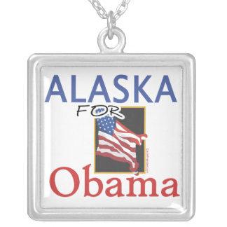 Alaska for Obama Election Jewelry