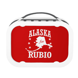 ALASKA FOR RUBIO YUBO LUNCH BOX