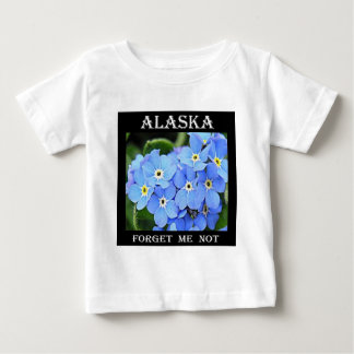 Alaska Forget Me Not Baby T-Shirt