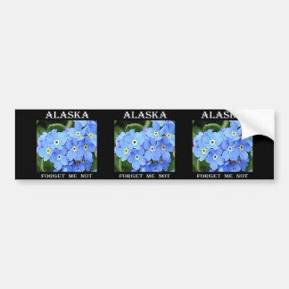 Alaska Forget-Me-Not Bumper Sticker