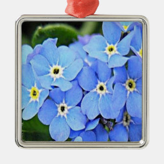 Alaska Forget Me Not Christmas Ornament