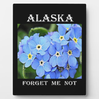 Alaska Forget-Me-Not Plaque