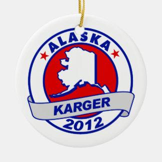 Alaska Fred Karger Christmas Tree Ornaments