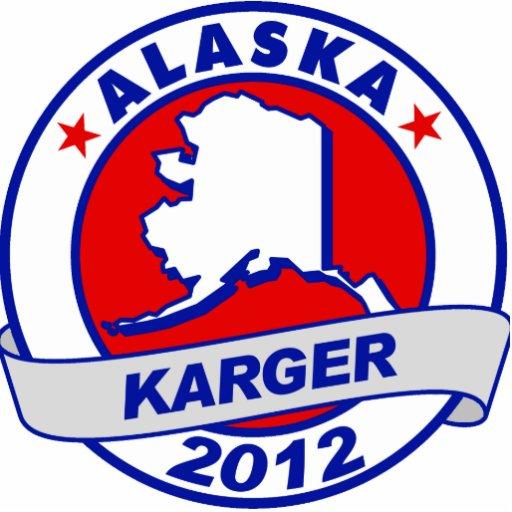 Alaska Fred Karger Photo Cutout
