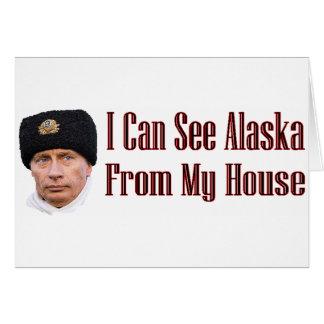 Alaska from my house card