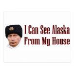 Alaska from my house postcards