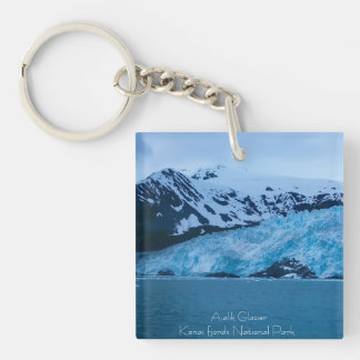 Alaska glacier keychain