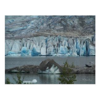 Alaska Glacier Postcard