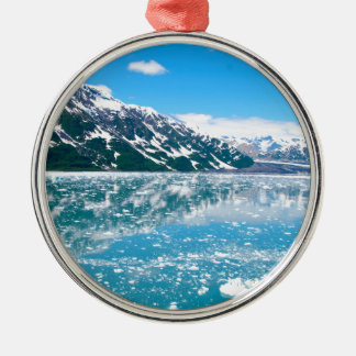 Alaska Glasier Christmas Ornament