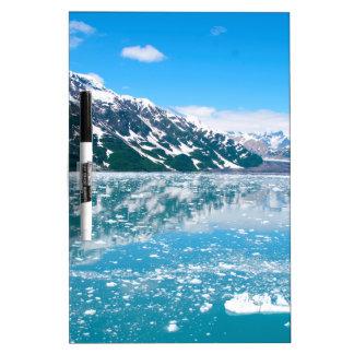 Alaska Glasier Dry Erase Board