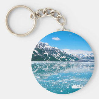 Alaska Glasier Key Ring