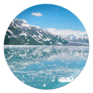 Alaska Glasier Party Plates